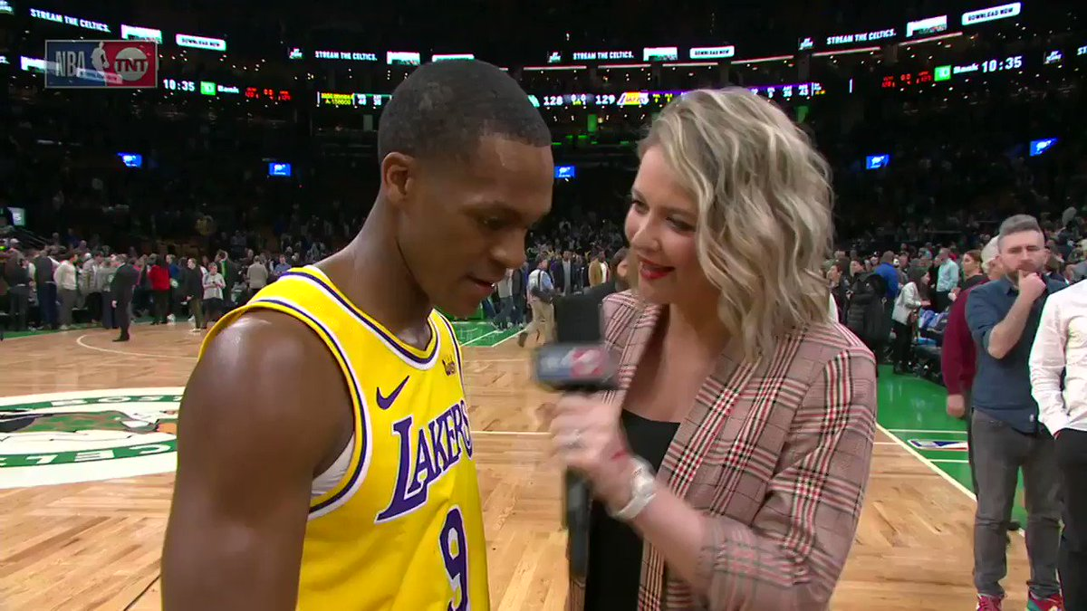 'Believe it or not I always dream like this.'  What a moment for Rajon Rondo in Boston. https://t.co/GZUy1axift