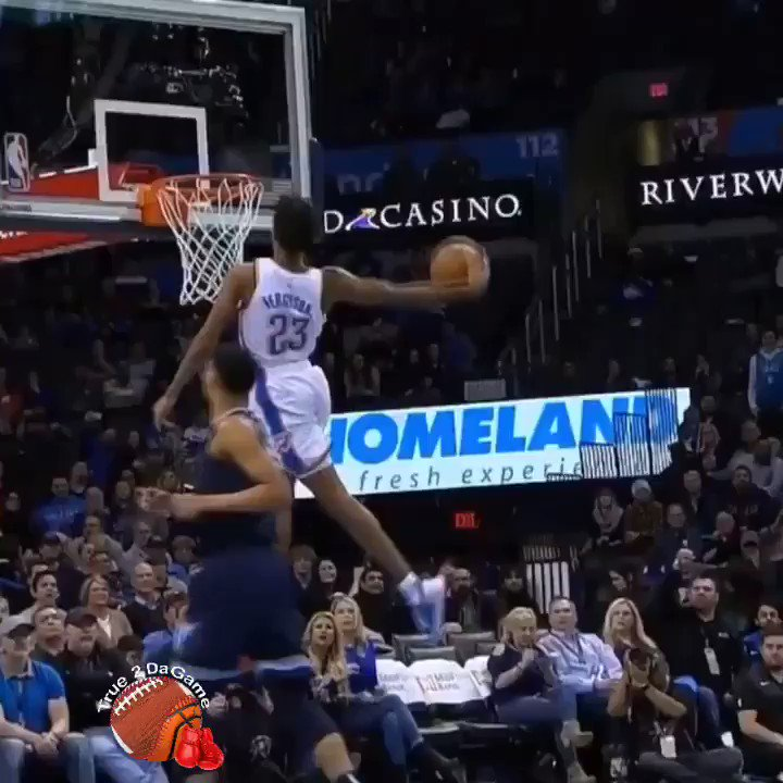 Terrance Ferguson showing off some major hops✈️✈️✈️ #MEMvsOKC #GrindCity #ThunderUp #NBA #NBAonTNT #NBAAllStar (via @NBA )  https://www.true2dagame.com/nbabasketball
