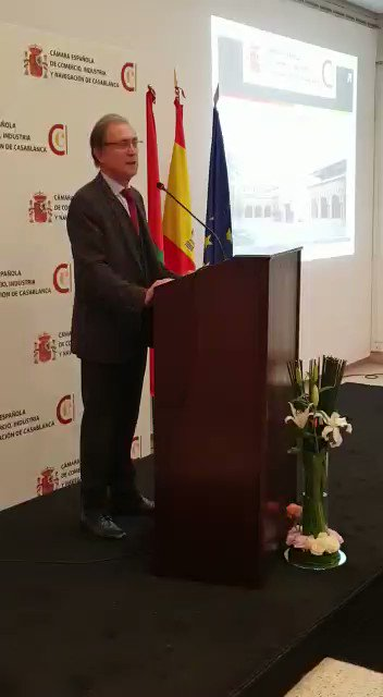 Image for the Tweet beginning: #Evento  La Cámara Española de Comercio,