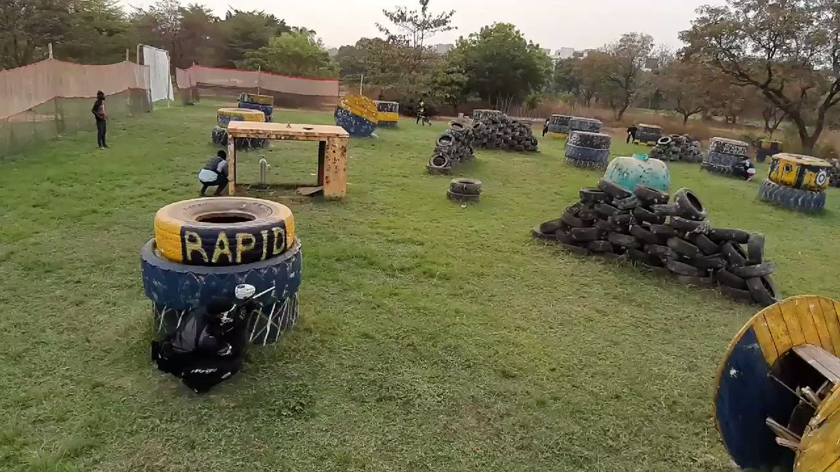 Your mission, should you choose to accept it is to have FUN #WeAreRapid #paintball #Abuja #Fun #action #battlegames #runhideshoot #adventure #extremesport #Weekend #squad #noretreatnosurrender #adrenalin #team #AbujaTwitterCommunity #FridayFeeling #FridayMotivation