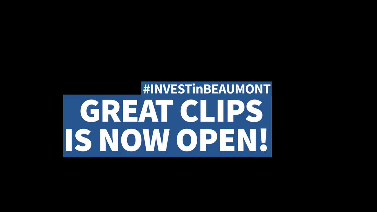 Feeling excited for another great addition to #Beaumont @T4XBeaumont business community. #InvestInBeaumont #BeaumontAB #GreatClips