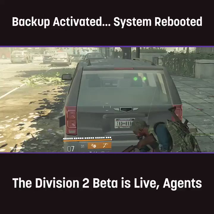 Division 2 Beta? Don't mind if we do. Can't play yet? We've got you covered https://link.twitch.tv/2SBXSBX
