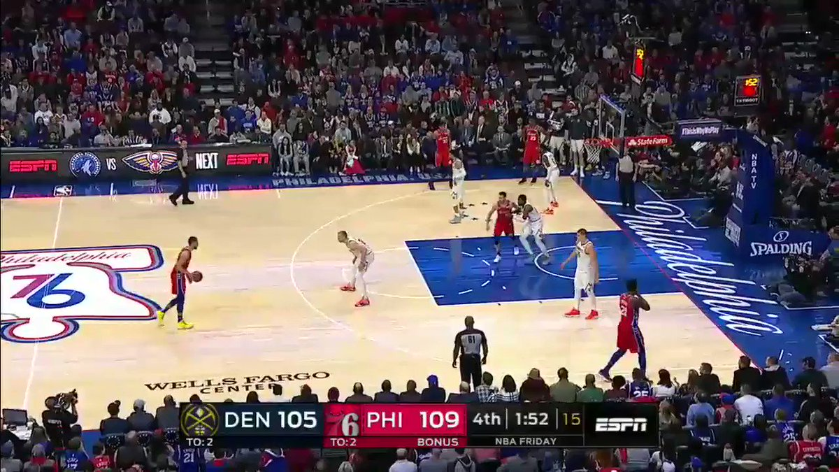 Ben Simmons hit him with the hesi and made him pay �� https://t.co/HNIYBw9O39