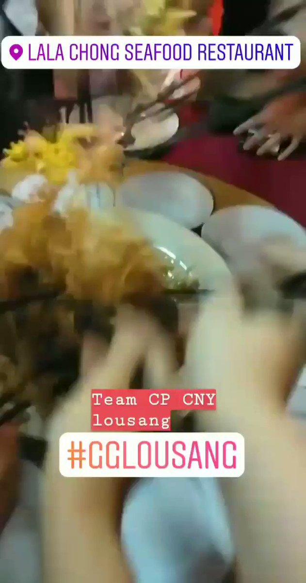 CNY lousang... GG-ed