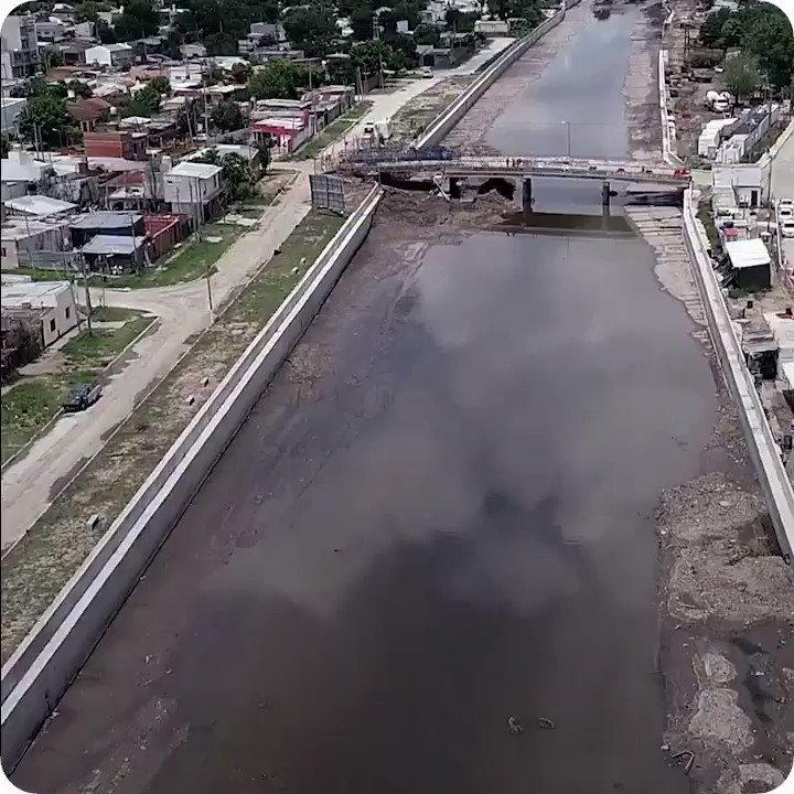 VER PARA CREER  Este video muestra cómo está y cómo estaba la cuenca del Arroyo el Gato en la Provincia de Buenos Aires. La obra va a permitir que el agua de lluvia drene más rápido y beneficie a 400.000 personas.
