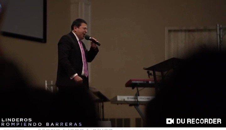 Declaración de Bendición sobre Venezuela por parte del Pastor @RevEliasLimones en la conferencia #Linderos2019 Sabemos Ud ama esta nación y nosotros tambien le amamos Pastor.