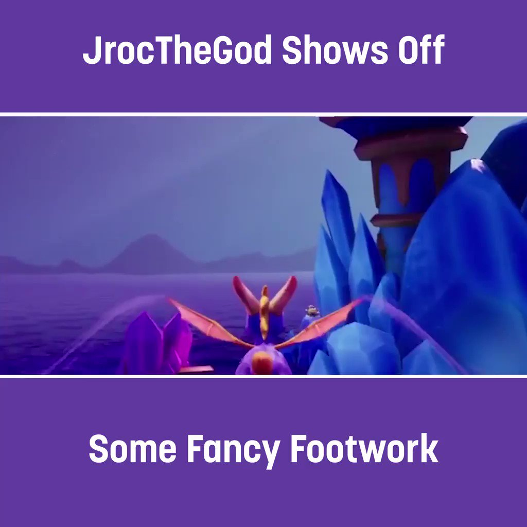 "We see you @JrocTheGod, bringing a new meaning to the phrase ""quick on your feet.""   #TwitchUnity"