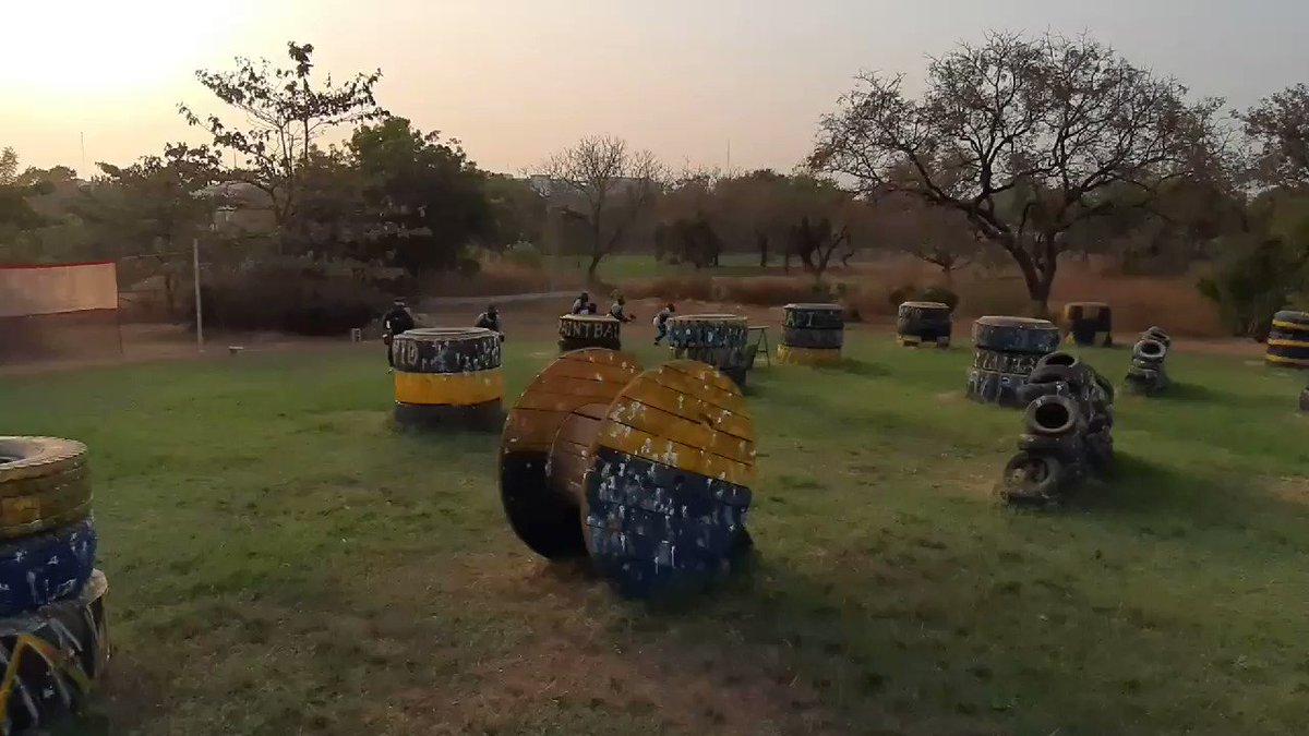 Experience epic battles #WeAreRapid #paintball #Abuja #Fun #action #battlegames #runhideshoot #adventure #extremesport #Weekend #squad #noretreatnosurrender #adrenalin #team #AbujaTwitterCommunity