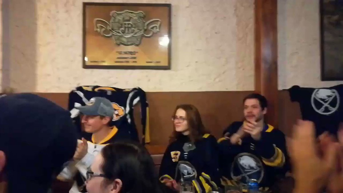 Let's Go Buffalo chant in Prague!  @BuffaloSabres @DisplacedSabres
