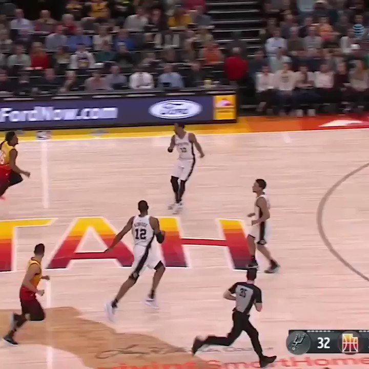 Intentional or not, Spida to Gobert was 🔥