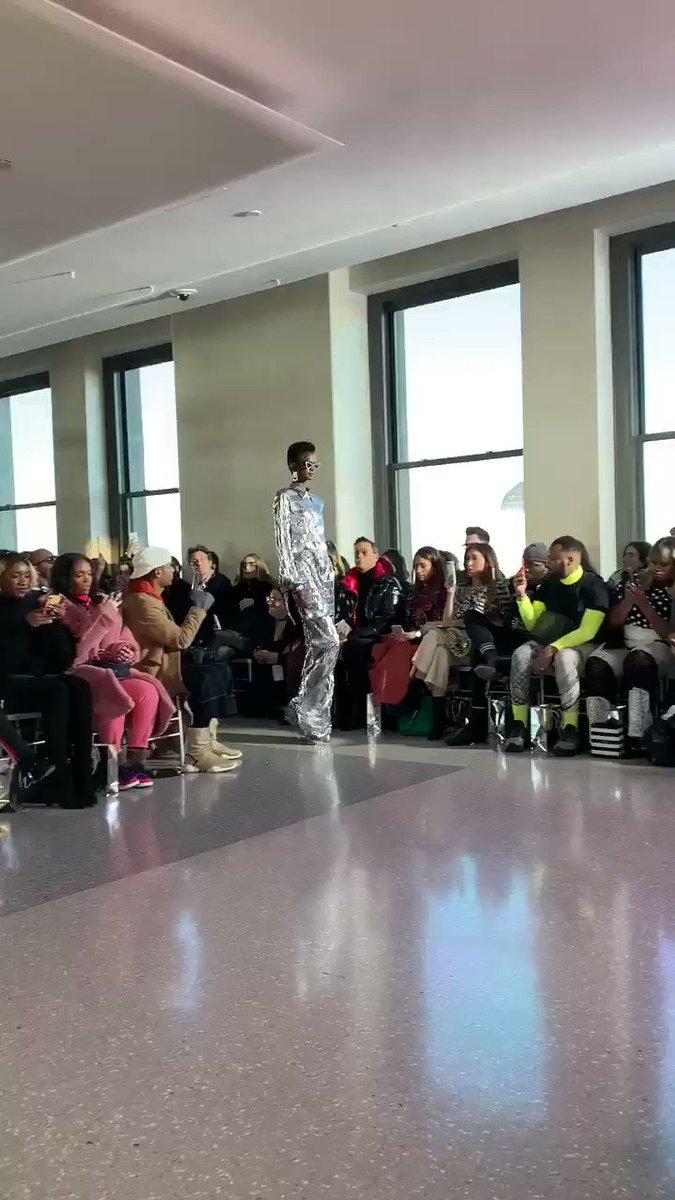 She better STRUT!  Christian Siriano Fall '19  #NYFW