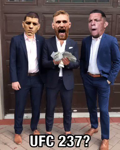 @TheNotoriousMMA , @nickdiaz209 & @NateDiaz209 be like....