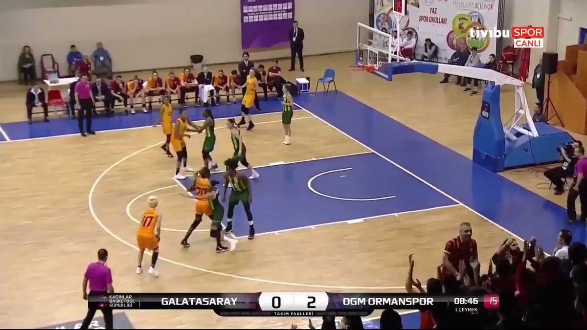 Galatasaray 74 - 71 OGM Ormanspor  Moriah Jefferson 27 PTS, 4 REB, 6 AST and 3 STL  @_BonnBonn @LVAces