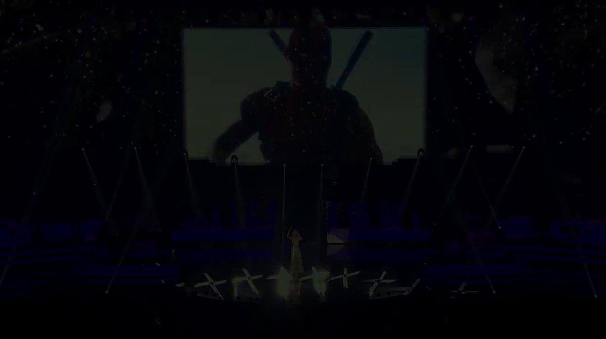 Congratulations and good luck to the #Deadpool2 team for the @RecordingAcad nomination ! // Félicitations et bonne chance à l'équipe de Deadpool 2 pour la nomination aux Grammy ! Bonne soirée à tous ! - Team Céline  #Ashes @deadpoolmovie