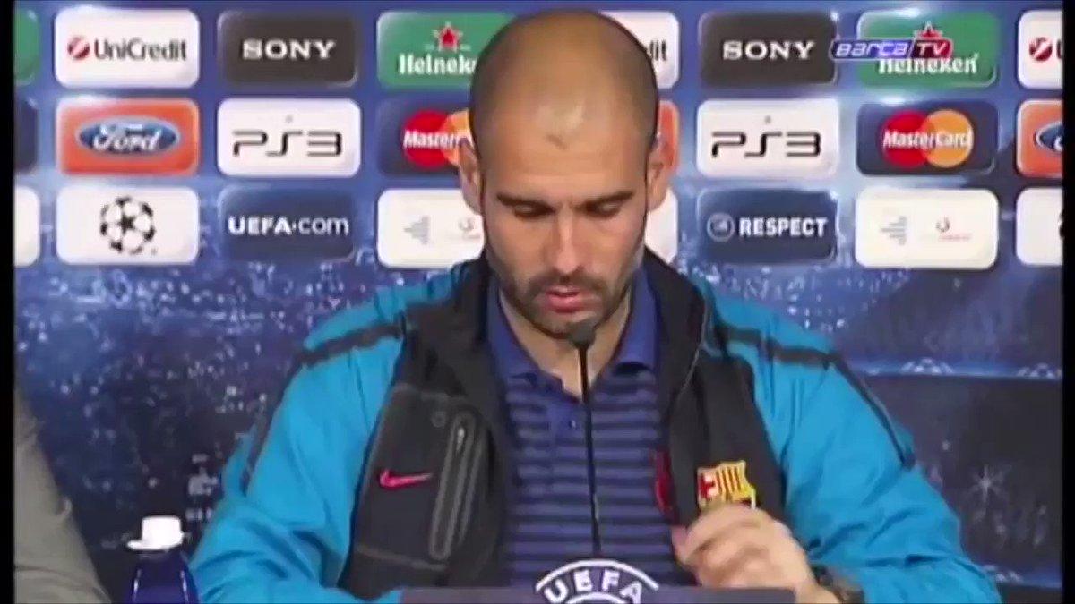 Donaría partes de mi cuerpo para que volviese este hombre al Barça algún día.
