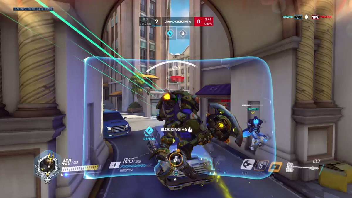 Calculated. #Overwatch #OW #Reinhardt #PS4share  https://store.playstation.com/#!/en-us/tid=CUSA01842_00 …