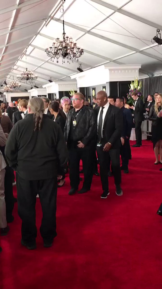 BRB just casually crying/screaming over @BTS_twt living out their dreams of being at the #GRAMMYs �� https://t.co/osQgOPs04W