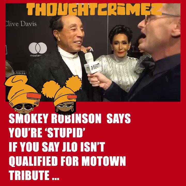 Thought Crimez's photo on Smokey Robinson