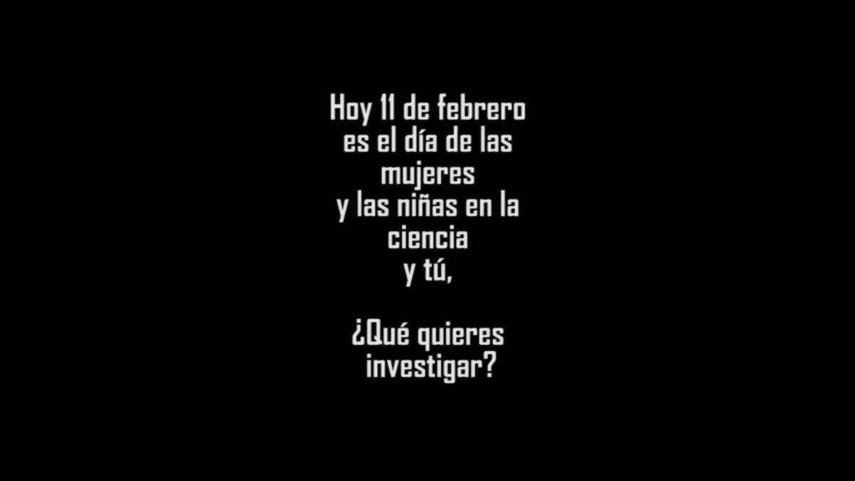 RedDeInvestigadoras's photo on #WomenScienceDay