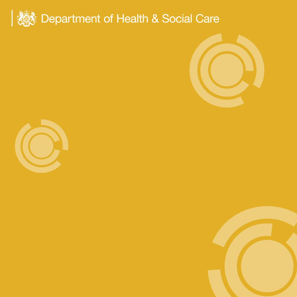 Department of Health and Social Care's photo on #topolreview