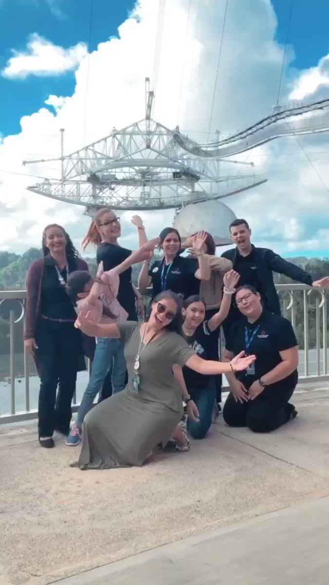 Arecibo Observatory's photo on #idwgs2019