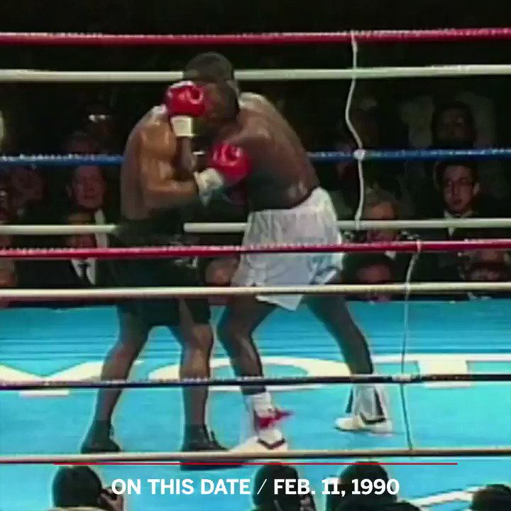 On This Date: 29 years ago, Buster Douglas defied the 42-to-1 odds and knocked out Mike Tyson. https://t.co/ru5SCSLNtV