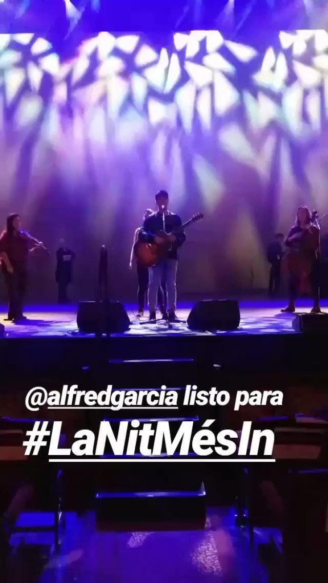 Alfred García 🎤 FanSite 🎸's photo on #LaNitMésIn