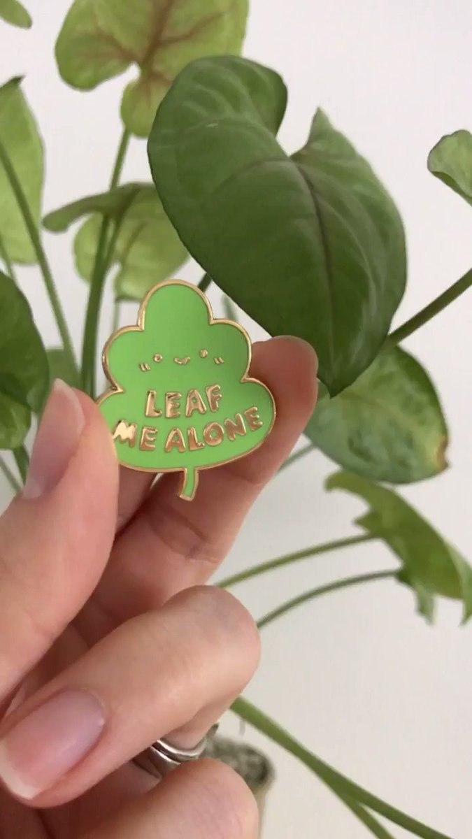 Monday mood. (Pin available in my shop! 🌱👉 breelundberg.bigcartel.com )