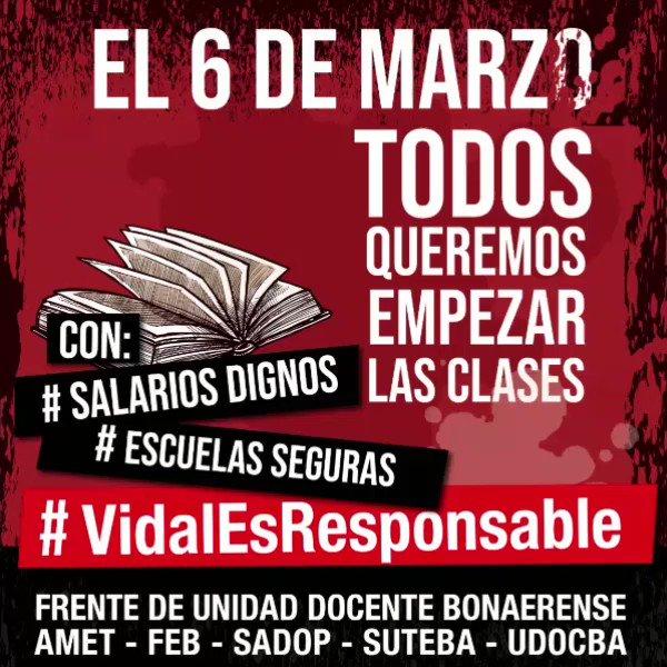 Suteba.LP's photo on #SalariosDignos