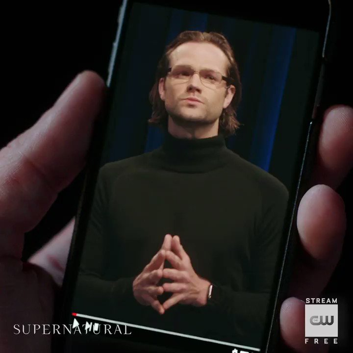 Welcome to Sam's TED Talk. Stream the 300th episode: https://t.co/ZCIZSAIXTe #Supernatural https://t.co/9XcNXvozL8