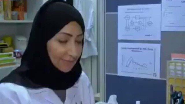 #السعودية التي أسست أول معمل متخصص في مرض نقص المناعة .