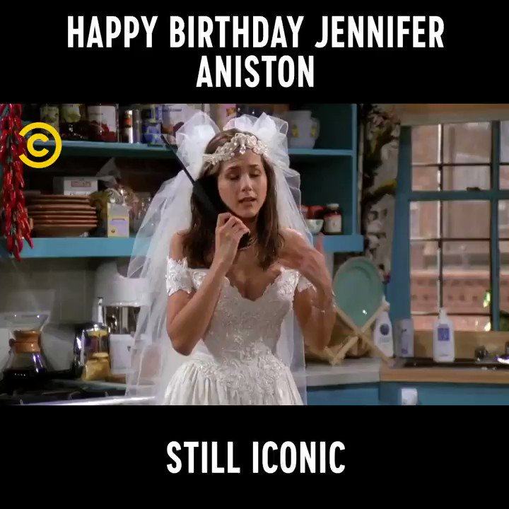 Comedy Central UK's photo on jennifer aniston is 50