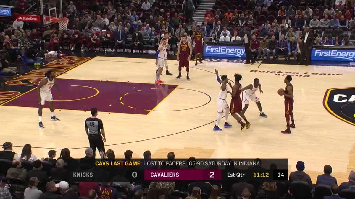 Kevin Love scored 12 PTS in the 1st for the @cavs! #BeTheFight  WATCH on NBALP: https://t.co/iPjKqpSDr5 https://t.co/QODjnsveea