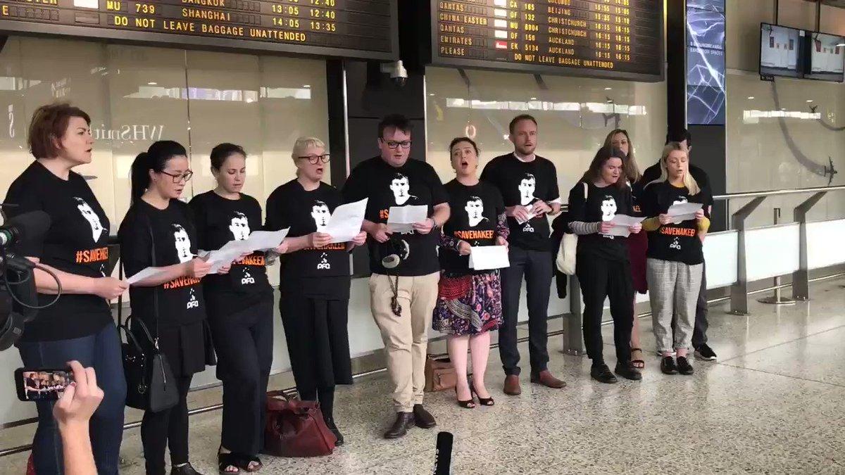 Caroline Schelle's photo on Melbourne Airport