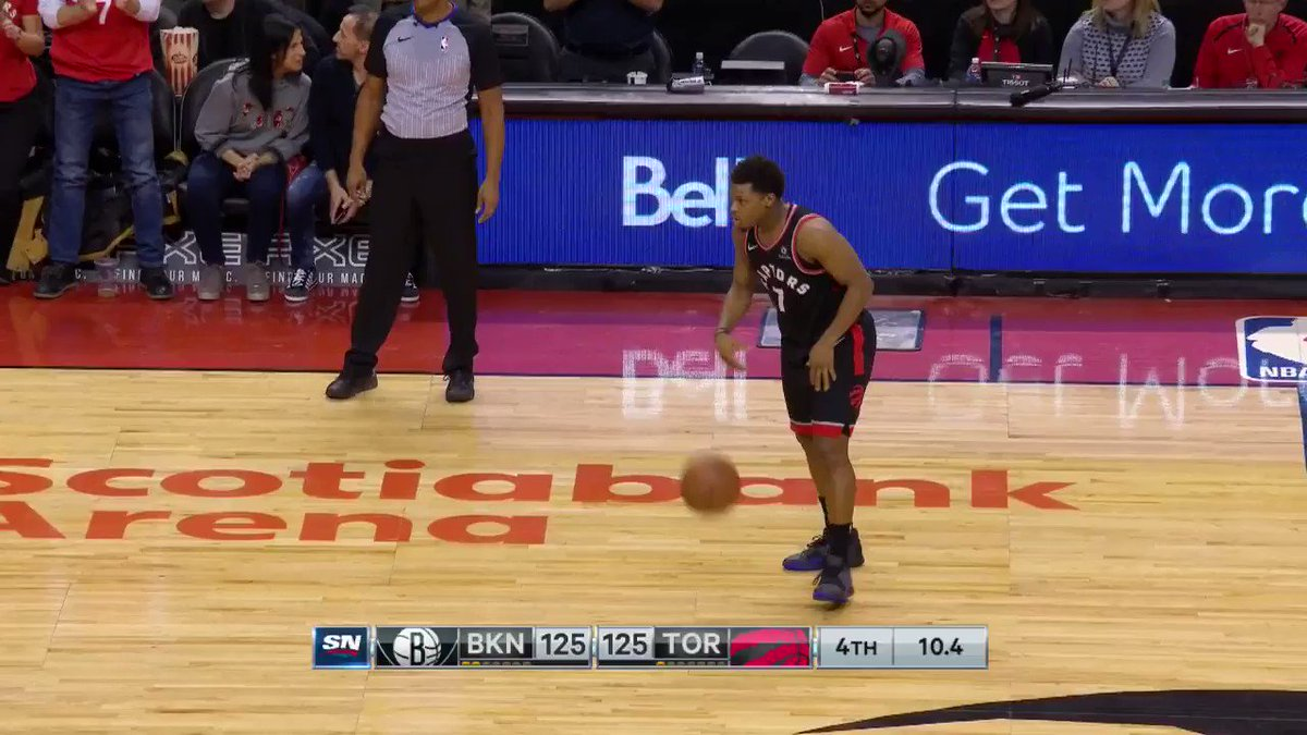 #KawhiLeonard (30p/8a) for the @Raptors W! #WeTheNorth https://t.co/kY3tmbCfNk