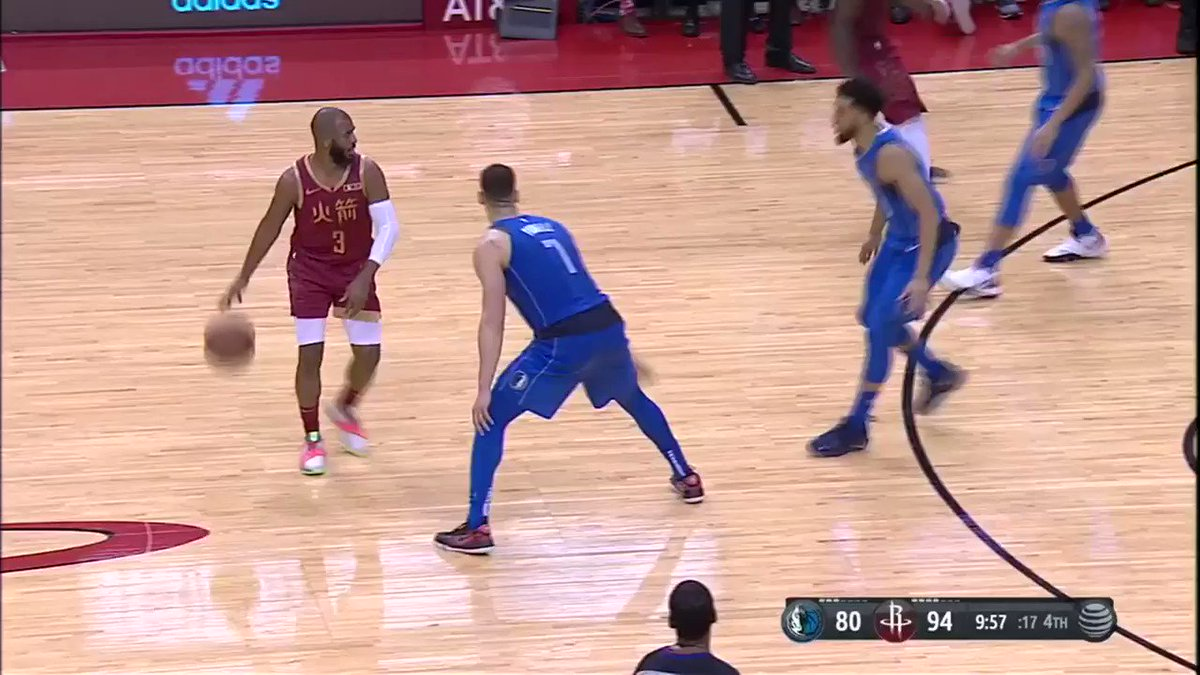 With this assist, Chris Paul moved up to 8th on the #NBA ALL-TIME ASSISTS list! #Rockets https://t.co/FDai9FVqaV