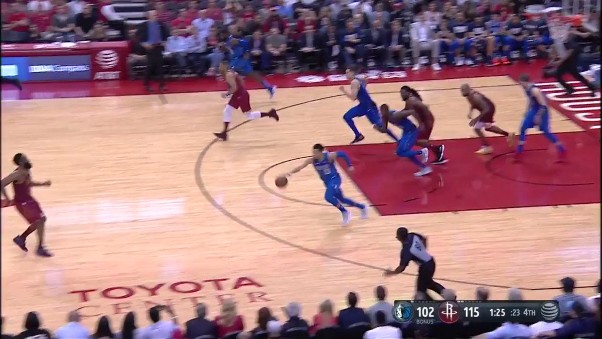 Harden with the 🔥 steal! 💪