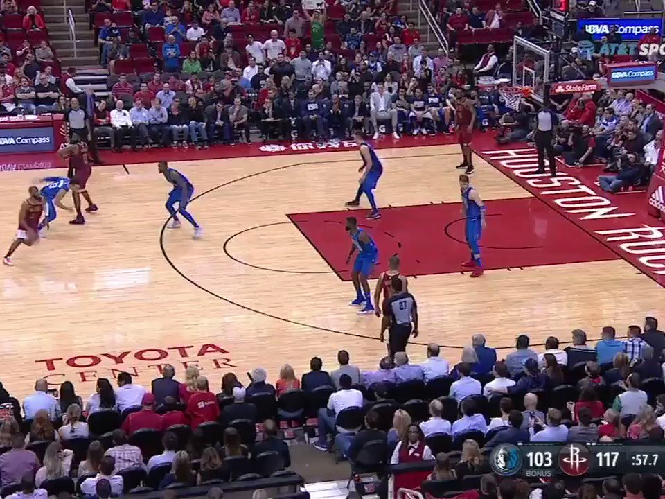 Harden all smiles after he hit 31 pts with less than a minute left.   That's 30 pts in 30 straight games �� https://t.co/HjqHoYCM1q