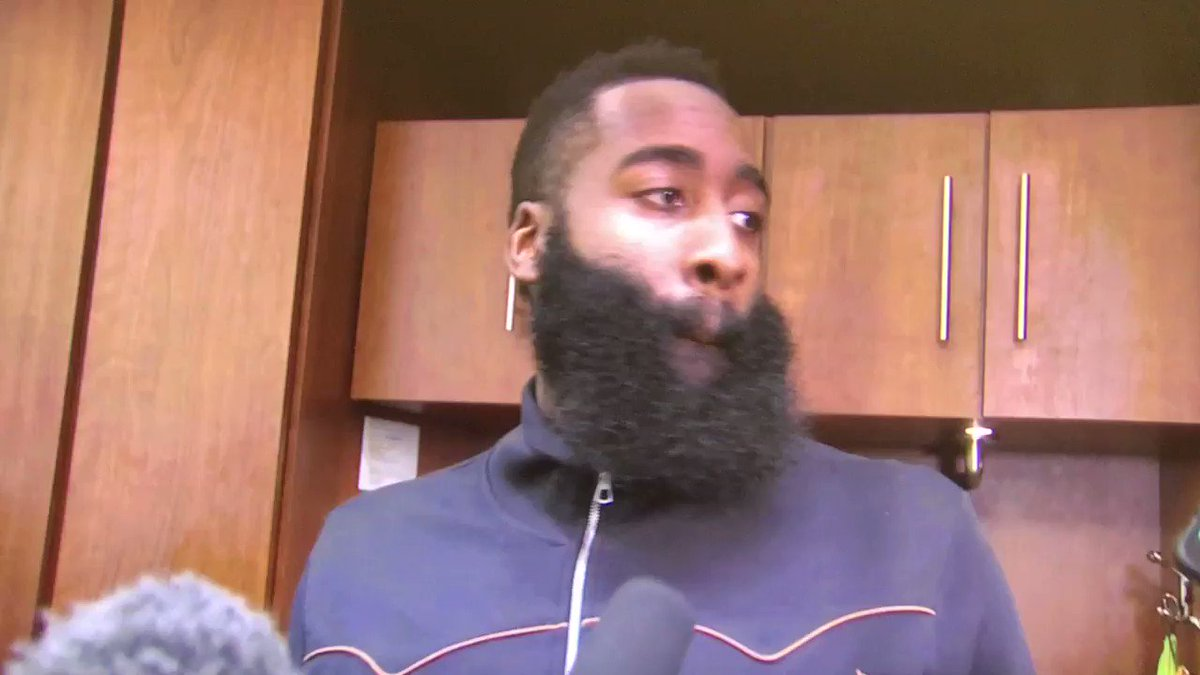 James Harden postgame. #Rockets #NBA #DALvsHOU #Houston  @FOX26Houston