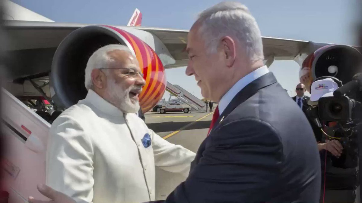 Israel in India's photo on #hugday