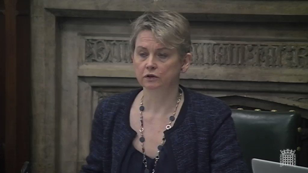 Image for the Tweet beginning: At @CommonsHomeAffs evidence session @YvetteCooperMP