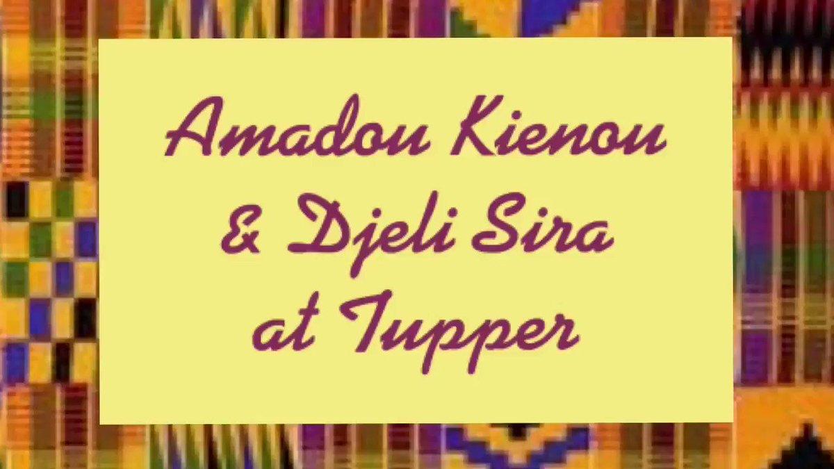 What a wonderful presentation by Amadou Kienou & Djeli Sira! Introduced to beautiful instruments, dance, & story! Thank you! @AFACS_Halifax @OfficeofANSA @WendyMackey