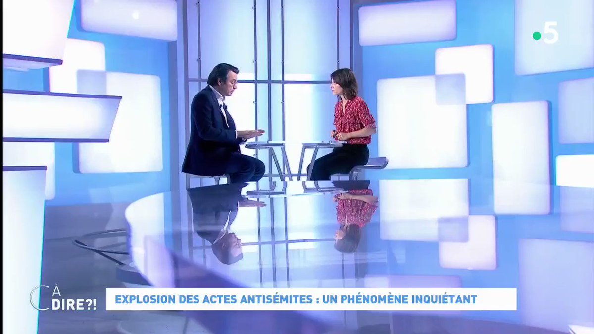 C à dire - France 5's photo on #antisemitisme