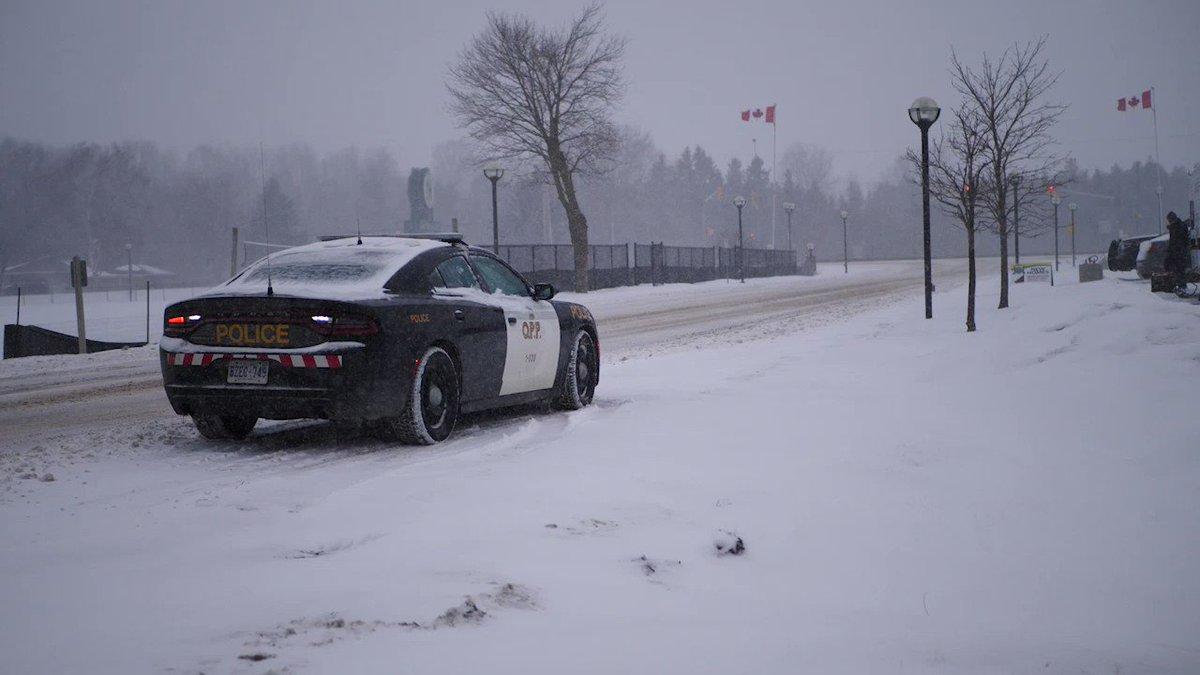 Ontario Prov Police's photo on #WinterStorm
