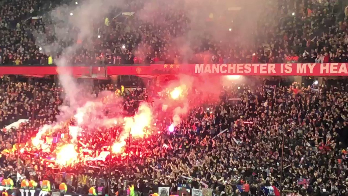 PSG at Old Trafford.