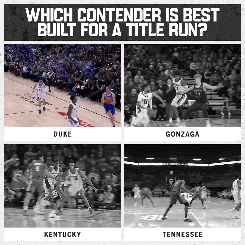 Duke is built for March.  That was the overwhelming response in this week's @CapitalOne Fan Vote. https://t.co/qQDIuKFFx3