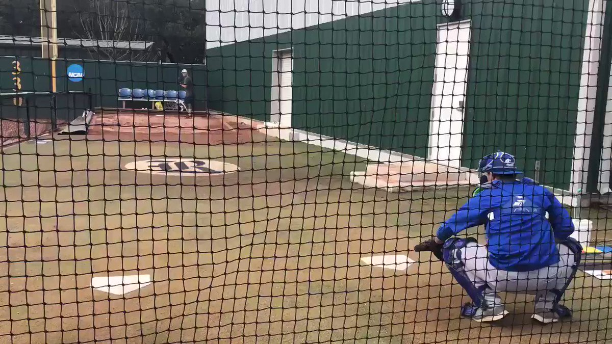 Provided by source: A look at Brett Marshall's session with the Blue Jays today.