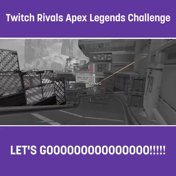 Anyone can be a rival. Not every rival can be a champion. Watch Twitch Rivals: APEX Legends Challenge now: https://link.twitch.tv/2RXpGfR