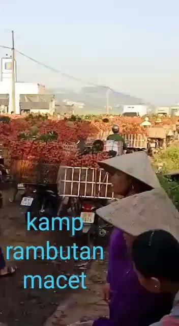 Haiti-Haiti.... Kemacetan di Kamp. Rambutan...  Paraaaaah......