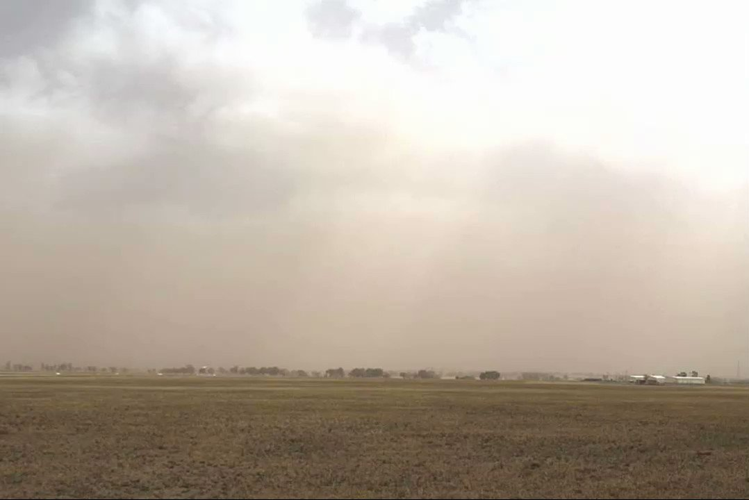 Bureau of Meteorology Australian Capital Territory's photo on #duststorm